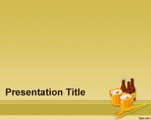 Template Beer Barley PowerPoint