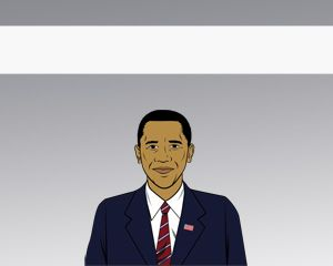Obama Free Power Point Template