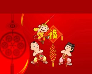 Chinese New Year Template PowerPoint