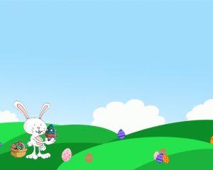 Easter Egg Hunt Power Point Template