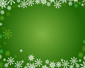 Christmas Snowflakes PPT PowerPoint Template