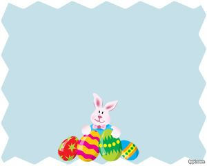 Easter Rabbit PowerPoint Template