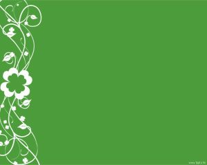 Clover Ornament PPT