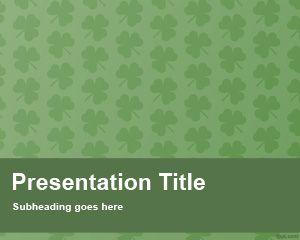 Shamrock PowerPoint Template