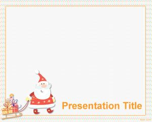 Christmas Gifts PowerPoint Template