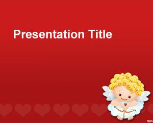 St Valentinstag Powerpoint Vorlage Powerpoint Vorlagen Kostenloser