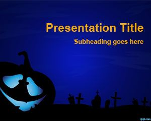 Creepy PowerPoint Template