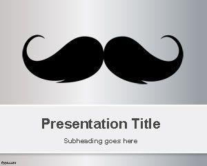 Moustache PowerPoint Template