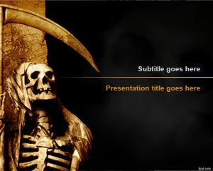 Grim Reaper PowerPoint Template