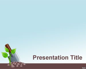 Grow PowerPoint Template