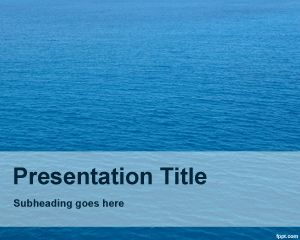 Nautical Powerpoint-Vorlage