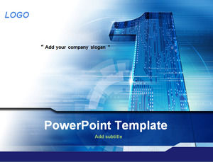 A shaped blue board science and technology ppt template powerpoint a shaped blue board science and technology ppt template toneelgroepblik Images