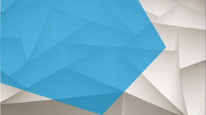 Art polygon PPT background image