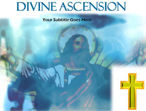 Ascension PPT template
