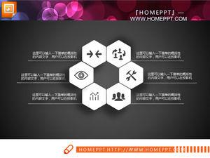 preto e branco micro dimensional bem slides gráfico de download
