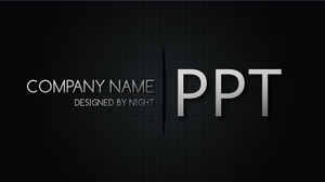 Black mesh technology PPT background picture
