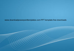 Blue gray classic Business PPT template