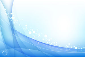 Blue Line Art PowerPoint Background Image