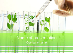Bud test tube incubation test ppt template