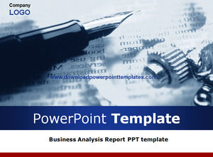 Business Analysis Report Ppt Template Powerpoint Templates Free Download