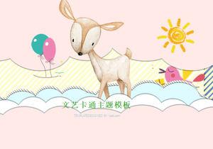 Template Ppt Kartun Untuk Warna Hewan Kecil Yang Lucu Latar Belakang Download Gratis Powerpoint Template Free Download