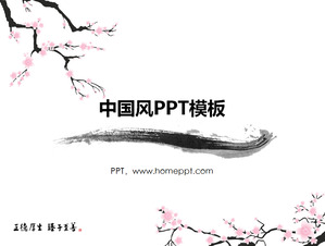 China Mobile Company Project Report PPT Template Download;