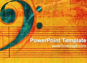 classical music ppt template download powerpoint templates free download