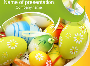 Color ball ppt template