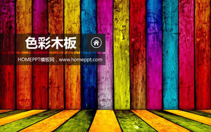 Colorful wooden slideshow background image download