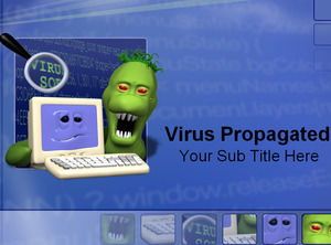 Computer viruses spread