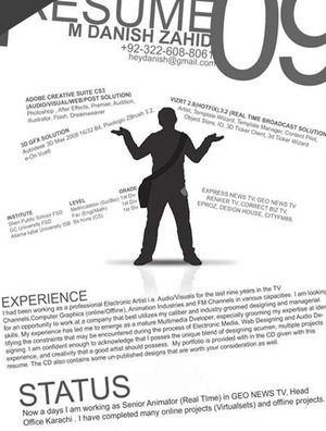 Creative Resume Powerpoint Templates