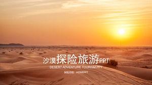 Desert Tourism Adventure PPT Template
