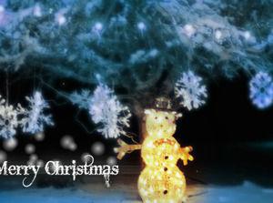 Plantillas Ppt Navidad Dinamico Tono Azul Powerpoint Templates