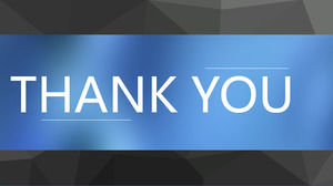 Dynamic cool Thank you appreciate the PPT end page template