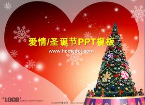 Calido Y Romantico Plantilla Dinamica Descarga De Navidad Powerpoint