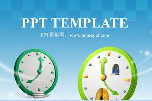 Elegant blue background cartoon clock korean cartoon ppt template elegant blue background cartoon clock korean cartoon ppt template free download toneelgroepblik Images