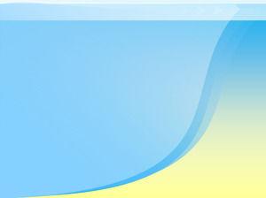 Elegant blue background with slideshow background image