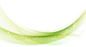 Elegant green lines PowerPoint background images