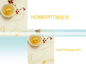 Elegant Tea Background Tea & Tea