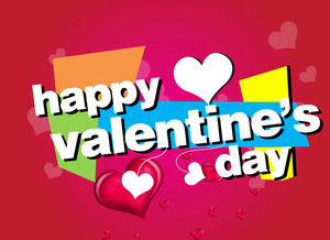 Excellent Valentine 's Day Music Greeting Card PPT Animation Download