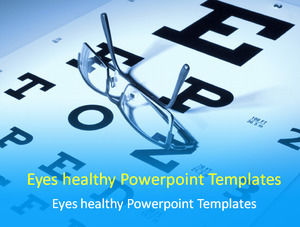 Eyes healthy Powerpoint Templates