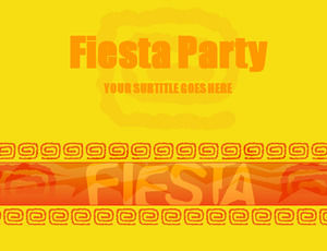 fiesta party powerpoint templates free download