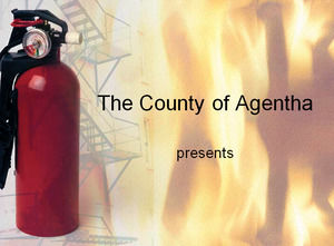 Fire Extinguisher Powerpoint Templates Free Download