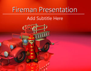 firefighters powerpoint templates powerpoint templates free download