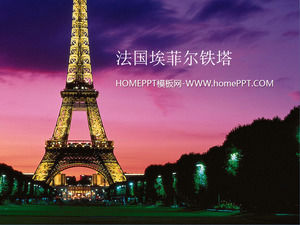 France Eiffel Tower background natural landscape slides background picture