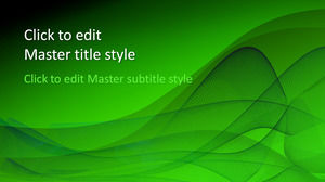 Free Green Design Powerpoint Template Powerpoint Templates Free Download