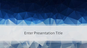 Free Low Poly PowerPoint Template