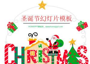 Divertidos Dibujos Animados De Navidad Ppt Plantilla De Descarga