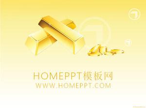 Gold bullion background financial economy ppt template download gold bullion background financial economy ppt template download toneelgroepblik Images