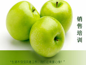 Green Apple Sales Training PPT